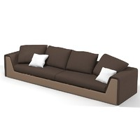 Fendi Prestige Modern Contemporary Sofa